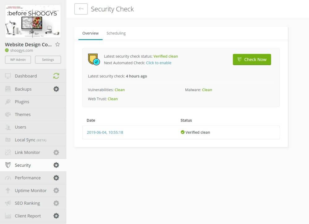 Shoogys-Maintenance-Security Vulnerability